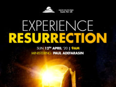 Join Us House On The Rock for A Special Resurrection Sunday Service