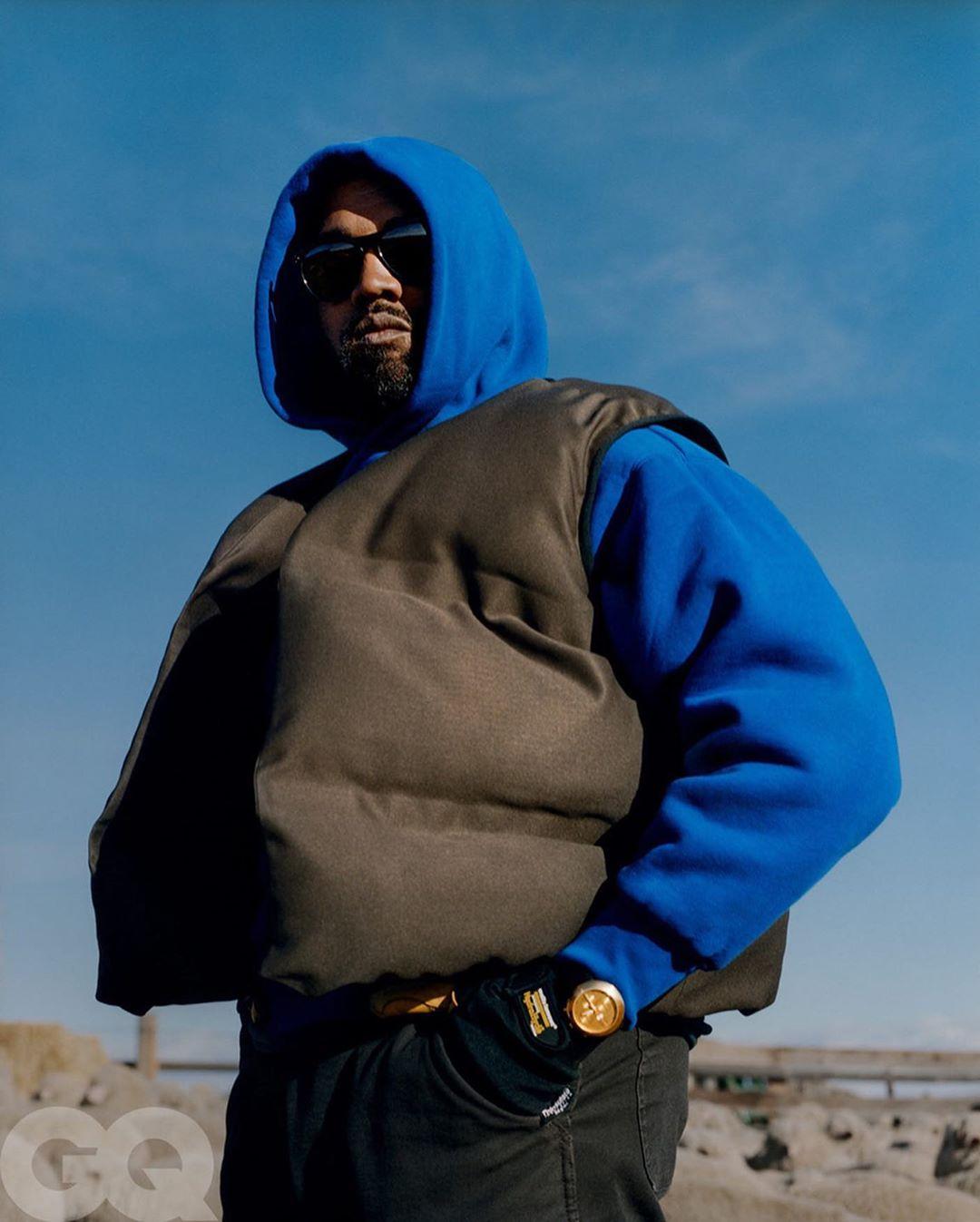 May Editon of GQ Magazine, Kanye West