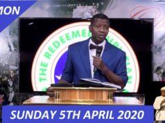 Redeemed Christian Church of God Sunday Service Live (5th April 2020)
