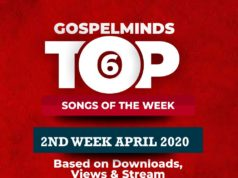 Top 6 Gospel Songs Of The Week 2020 April 2nd Week