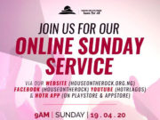 tune in this Sunday for a refreshing time in God's presence