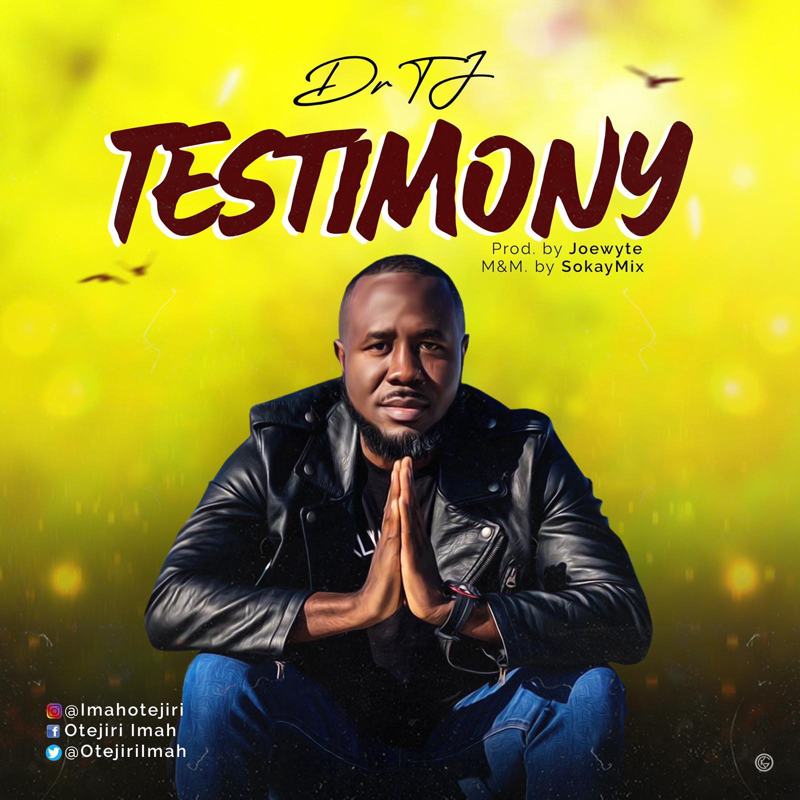 Dr TJ - Testimony