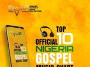 IACMP Official Nigeria Gospel Music Top 10 Chart April 2020 Edition