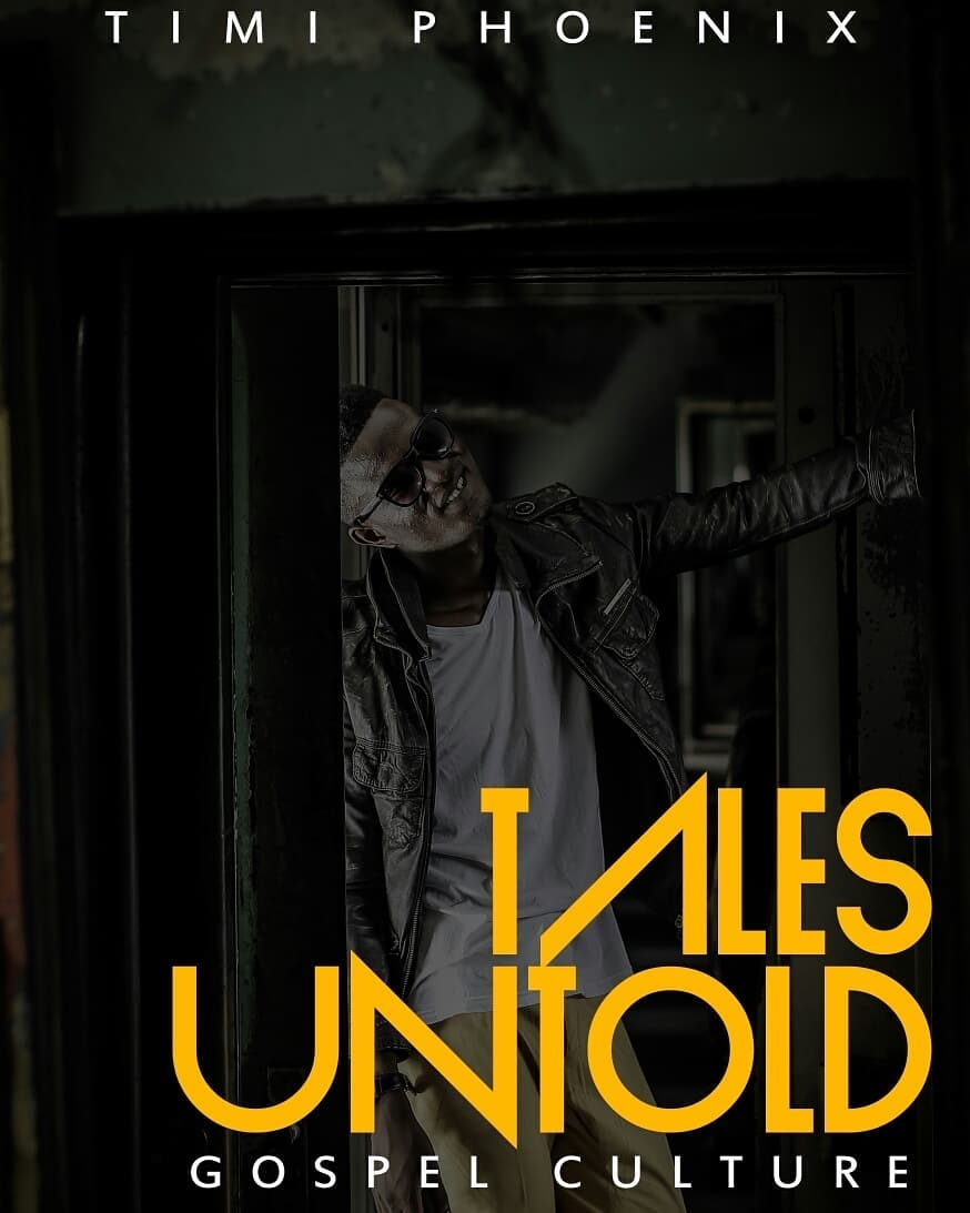 Timi Phoenix new audio book titled 'TALES UNTOLD