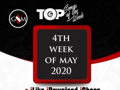 Weekly Top 6 Gospel Minds Songs Of The Week, 4th-Week Of May 2020