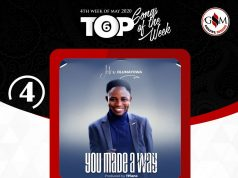 Weekly Top 6 Gospel Minds Songs Of The Week - No. 4 John Olumayowa