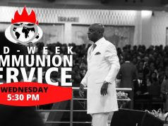 DOMI Stream Mid-week Communion Service