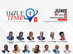 Half Time Conference 2020 Kicks Off On June 26th - 28th