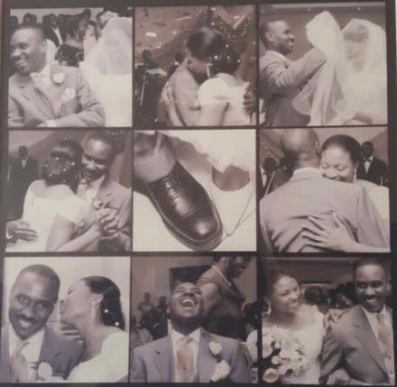 Ibidunni Ituah-ighodalo Wedding Picture in 2007