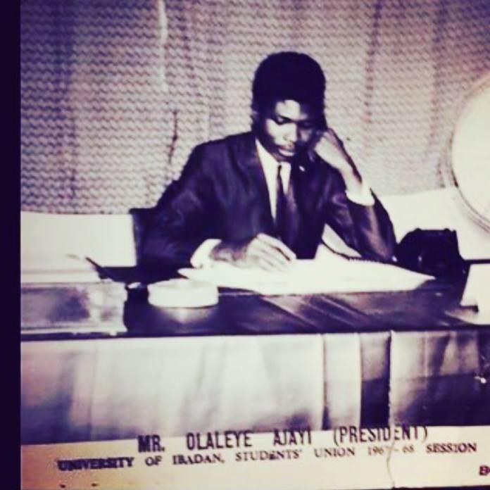 Olaleye-Ajayi, Father of late Ibidunni Ituah-ighodalo