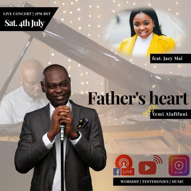 Online Concert with Yemi Alafifuni