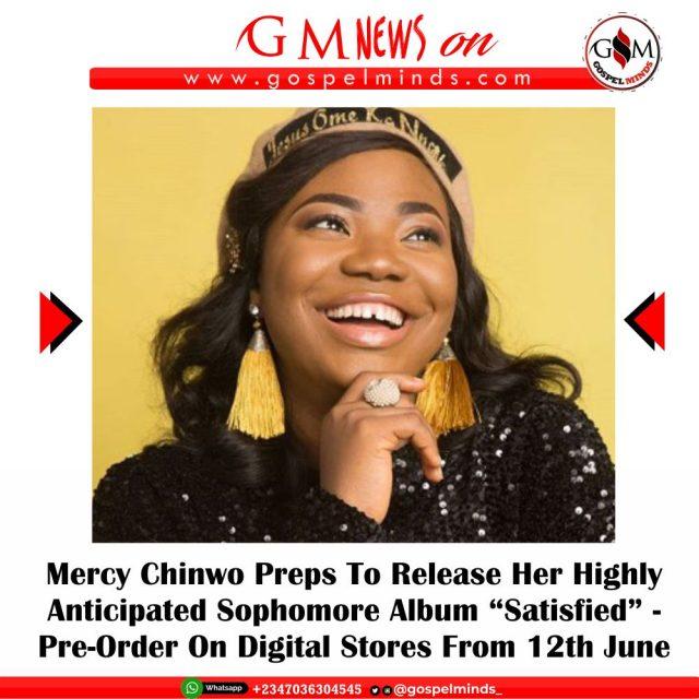 Pre-Order Mercy Chinwo Sophomore Album