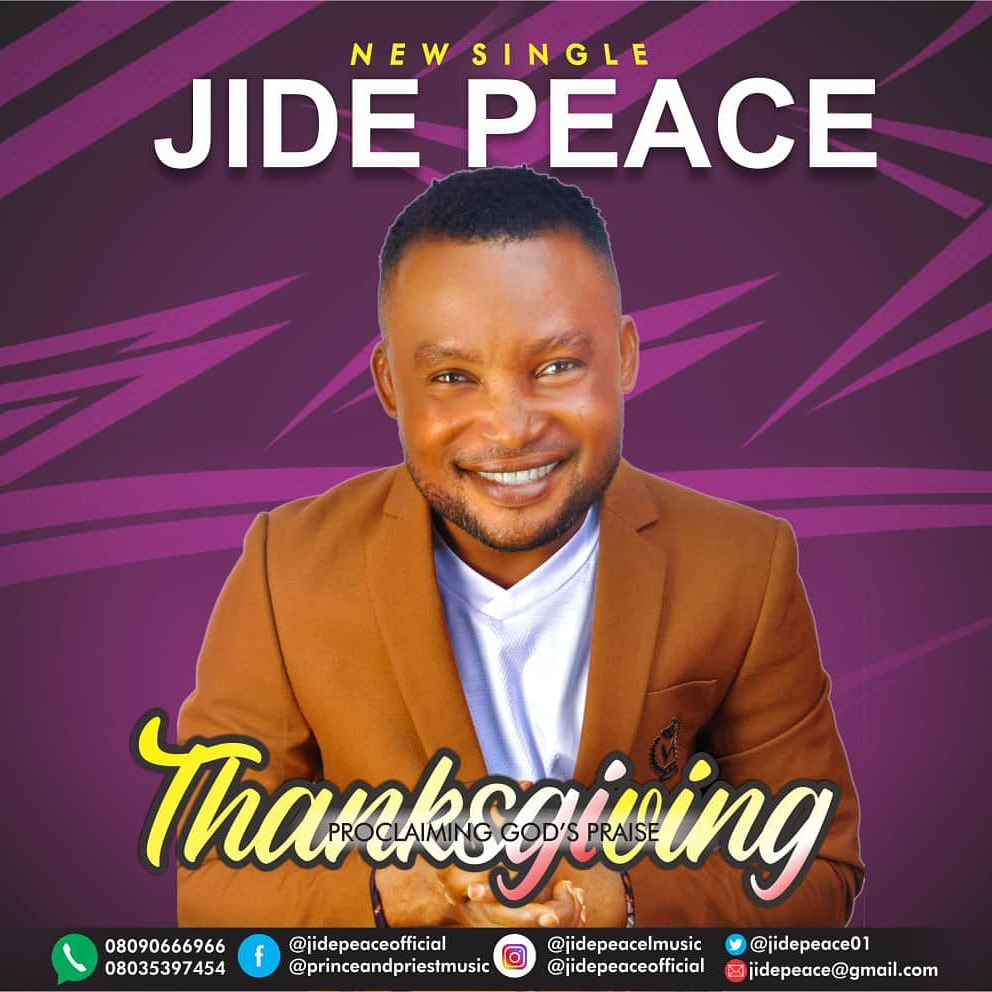 Jide Peace - Thanksgiving