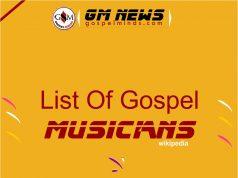Contemporary Gospel Artists A-Z