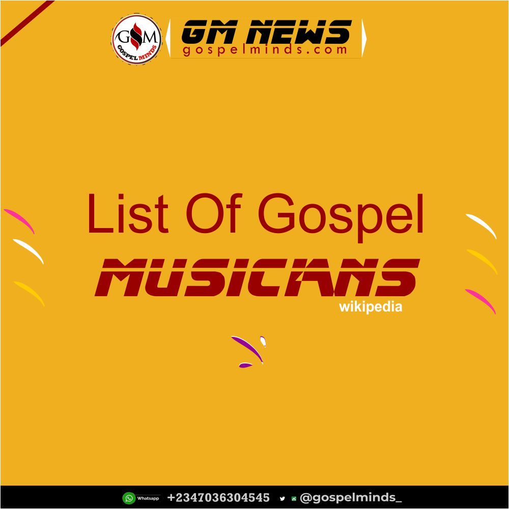 Contemporary Gospel Artists A-Z
