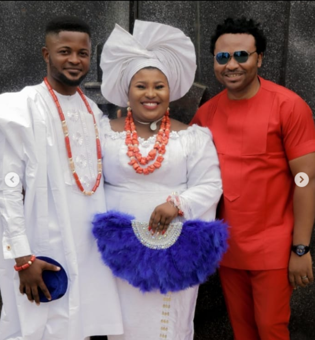 Judikay, Her Husband and Boss