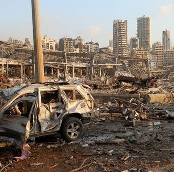 explosions rock Lebanese capital of Beirut