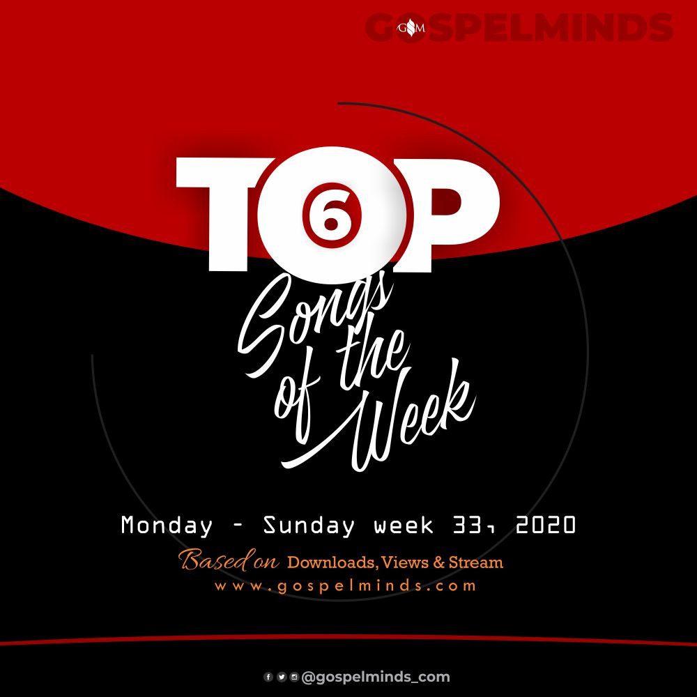 Top 6 Hottest Gospel Song Of The Week - 2020 Week 33