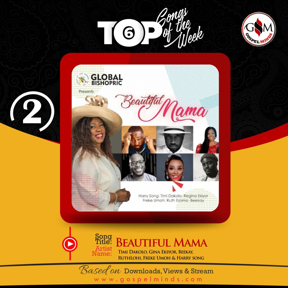 Top 6 Nigeria Gospel Song Of The Week - Timi Dakolo, Gina Ekiyor, Beekay, RuthLohi, Freke Umoh & Harry song