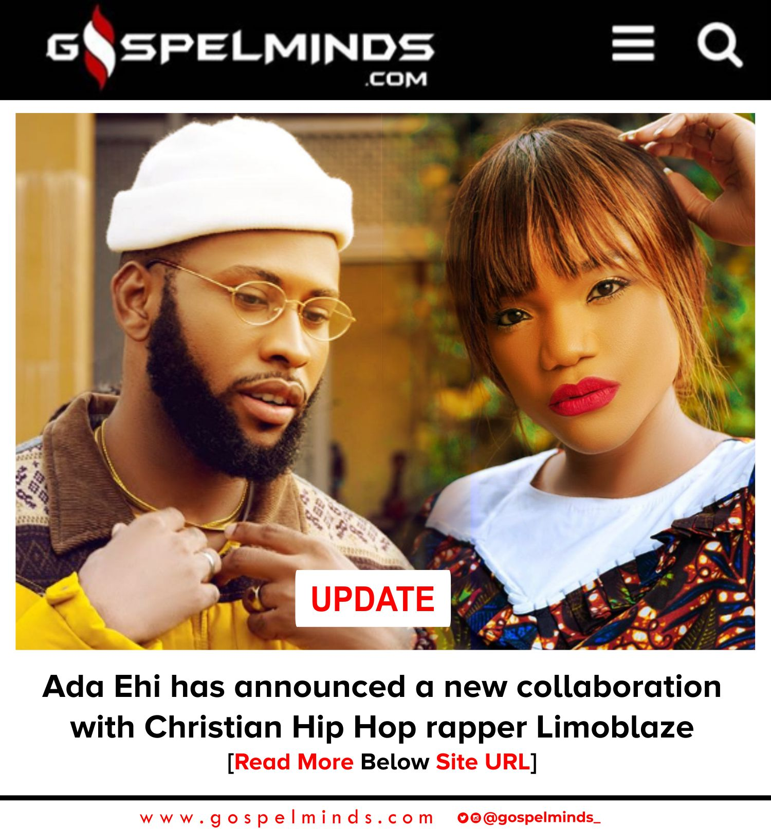 Ada Ehi collaboration with rapper Limoblaze