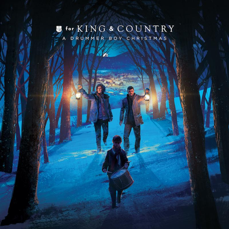 Adrummer Boy Christmas Album - for KING & COUNTRY