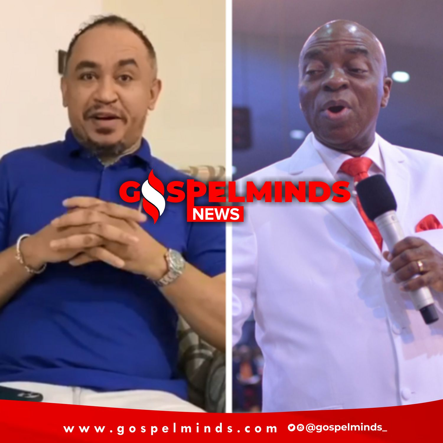 Daddy Freeze Apologizes To Bishop Oyedepo