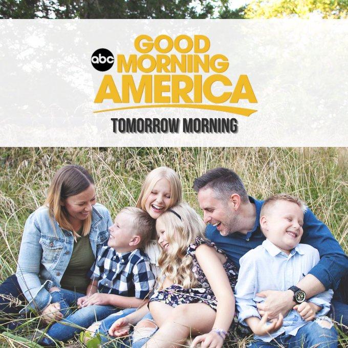 Matt Hammitt and his family