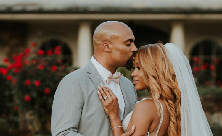 Phil Thompson & new wife Takiyah Romain