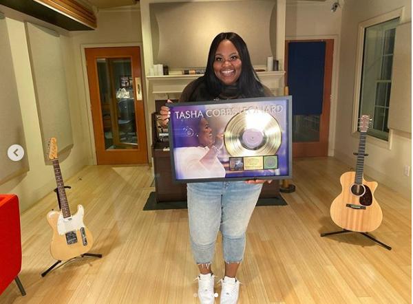 Tasha Cobbs Leonard Got RIAA Certified Gold