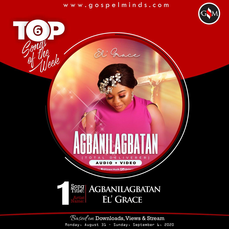 Top 6 Gospel Songs Of The Week - Agbanilagbatan By El' Grace