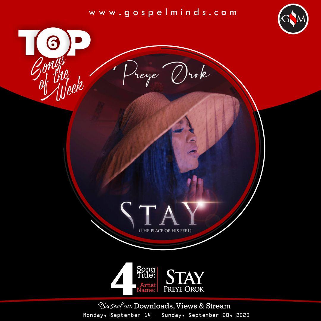 Top 6 Gospel Songs Of The Week - Preye Orok Stay