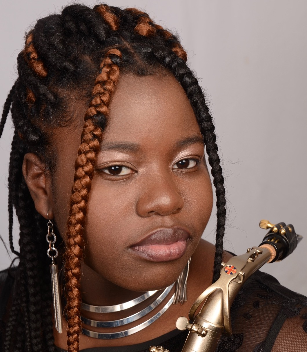 Alice Joshua Female Saxophonist