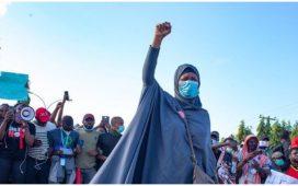 ENDSARS PROTEST - Aisha Yesufu