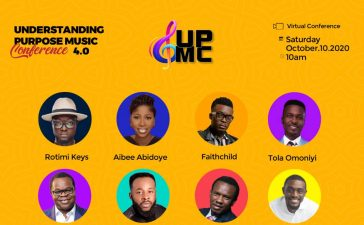 Event UPMC 4.0 Virtual Edition Understanding Purpose Music Conference