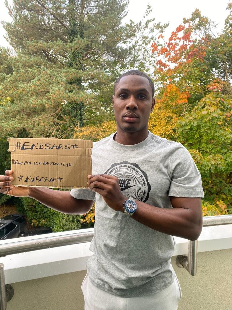 Odion Ighalo on the Lagos Lekki Tollgate Killings Yesterday