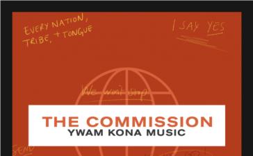 YWAM Kona Music Debut EP The Commission (Live)
