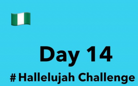 Hallelujah Challenge 2020 Day 14 - By Nathaniel Bassey