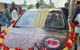 Judikay & Husband Anselem Opara Brand New Car