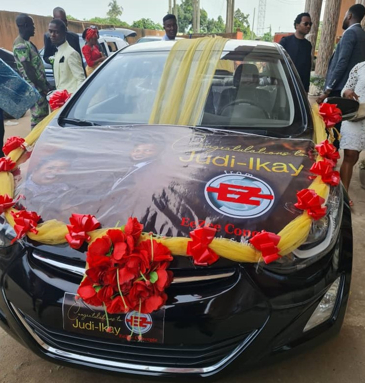 Judikay & Husband Anselem Opara Brand New Car