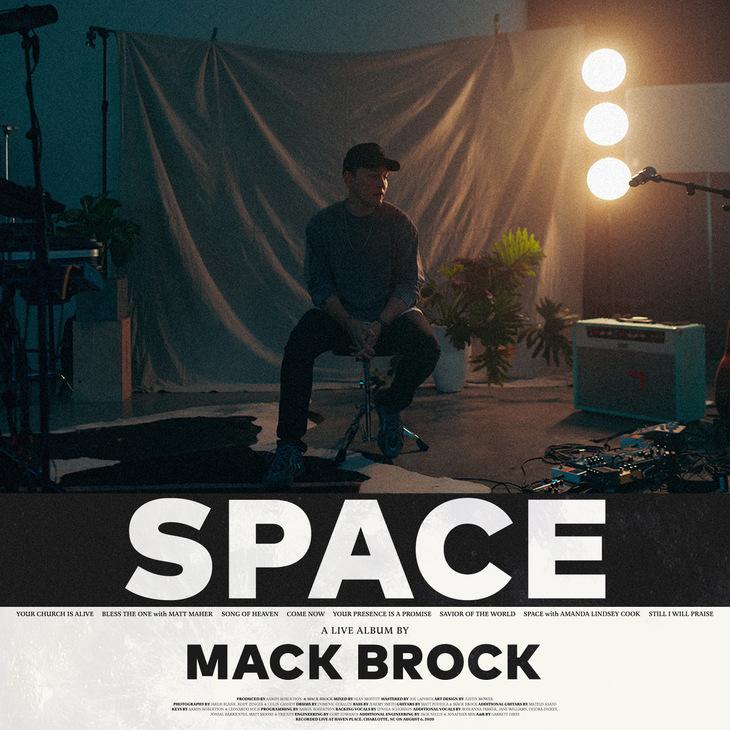 Mack Brock - SPACE (Album) Live Project