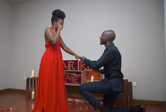 Pompi Is Now Engaged To Esther Chungu