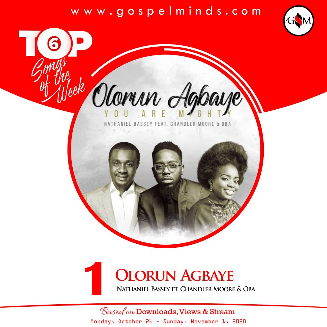 Top 6 Gospel Songs Of The Week 4th October 2020 - Olorun Agbaye Nathaniel Bassey ft. Chandler Moore & Oba