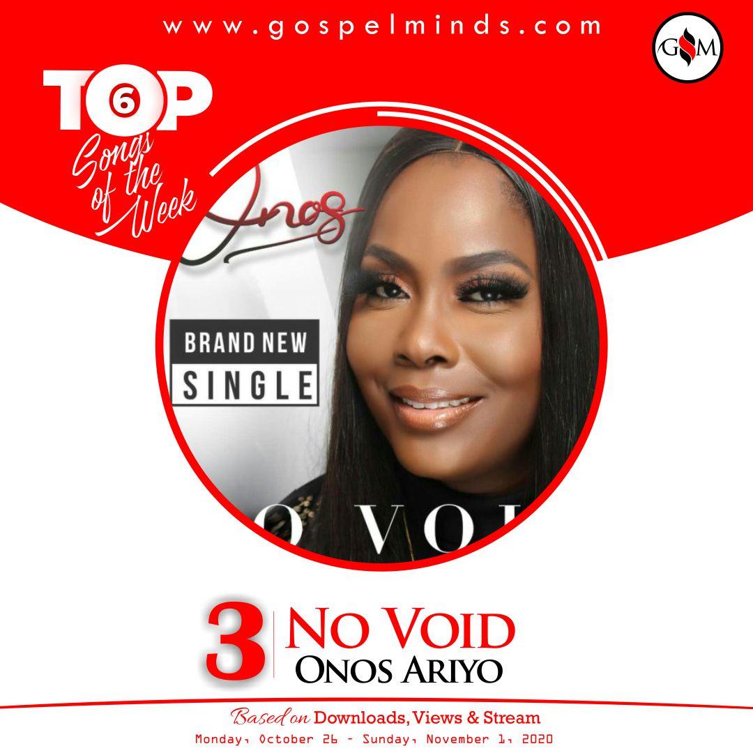 Top 6 Gospel Songs Of The Week 4th October 2020 - Onos Ariyo No Void