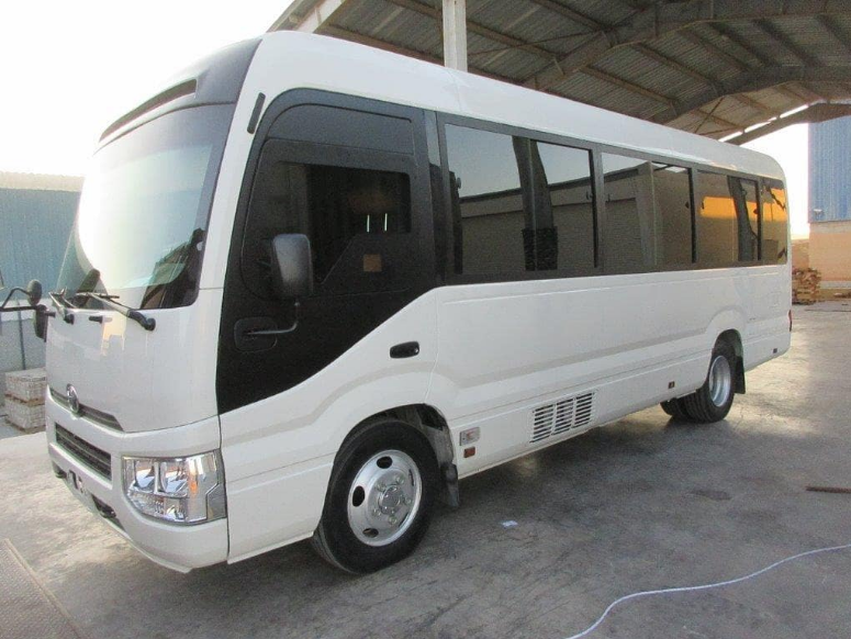 Tope Alabi acquires Toyota Coaster Bus For The Gospel