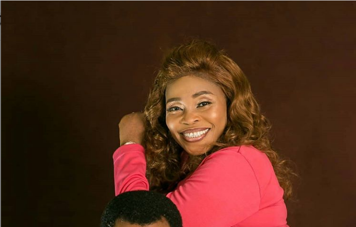 Tope Alabi & her husband Mr. Olusoji