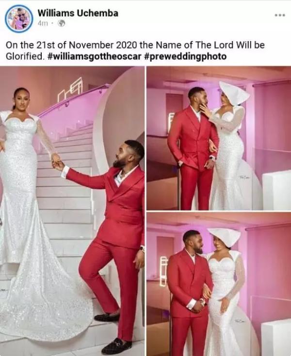 Williams Uchemba & Brunella Oscar Wedding