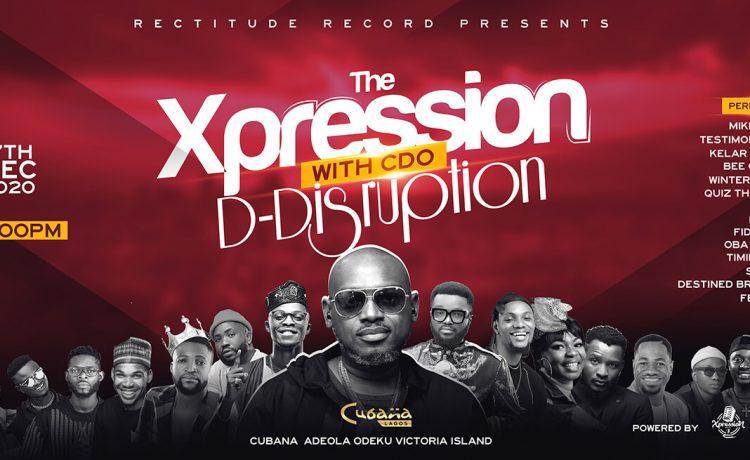 Cubana Praise Night 'The Xpression' with CDO