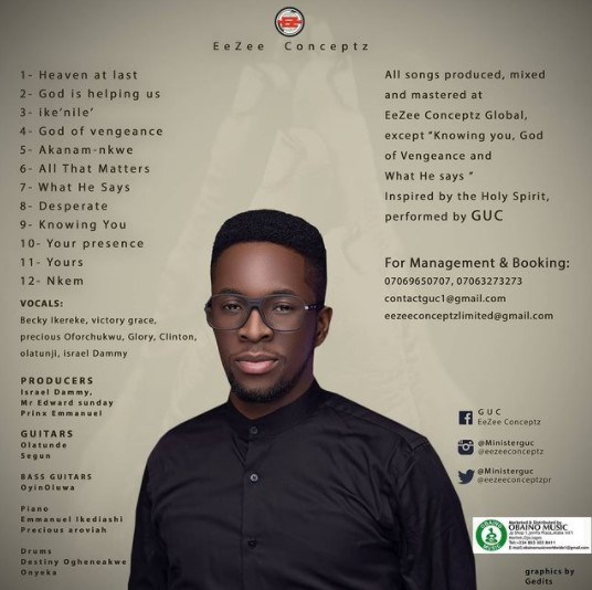 Minister GUC Album Tracklist (The Message)