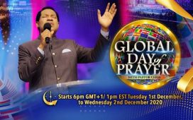 Global Day of Prayer Live Stream December 2020 with Pastor Chris