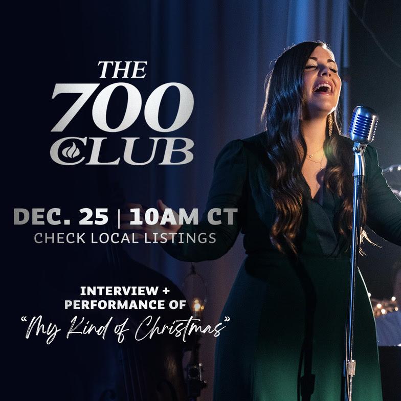 The 700 Club 'Christmas Day' Hannah Kerr